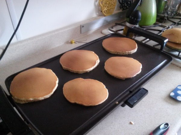 Seriously, make yourself some pancakes.